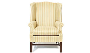 Custom_Occasional_Chairs_Toronto_2002 Wing Chair (Curved Wing)