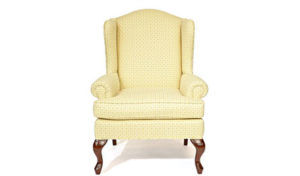 Custom_Occasional_Chairs_Toronto_2017 Wing Chair (Straight Wing)