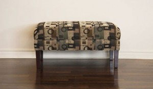 Custom_Upholstered_Bench_Toronto_Tight Top Ottoman