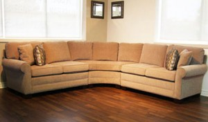 Custom_Sectional_Sofa_Toronto_2003 Curved Corner Sectional