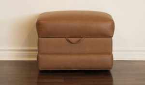 Custom_Upholstered_Bench_Toronto_Leather Storage Ottoman