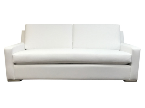2052 Sloped Arm Bench Seat Sofa