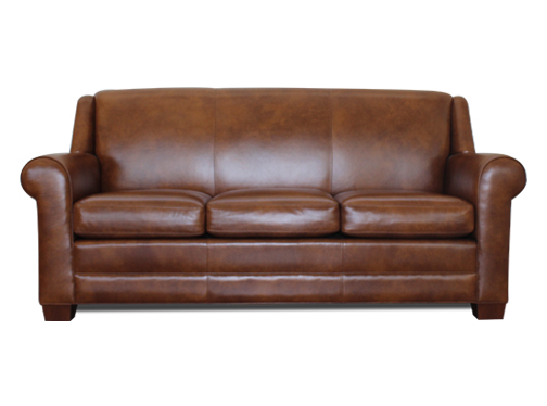 2057-Roll-Arm-Sofa-High-End-Luxury-Leather-Sofa-Toronto